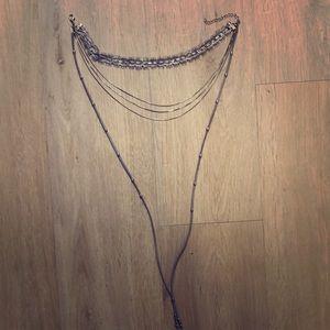 Free people chocker necklace